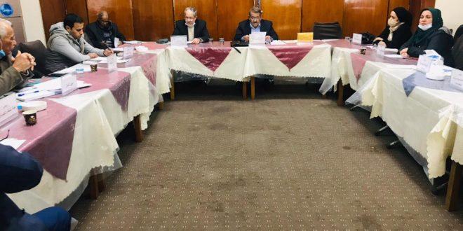 اجتماع الهيأة الإدارية لجمعية المهندسين العراقية يوم السبت الموافق16\1\2021