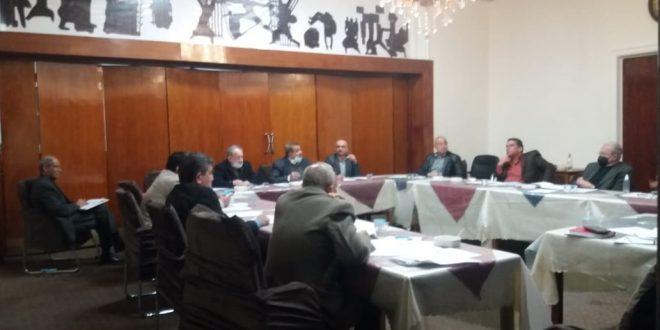 اجتماع الهيأة الادارية لجمعية المهندسين العراقية يوم الثلاثاء الموافق 9\2\2021