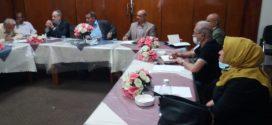 الأجتماع  الشهري للهيأة الأدارية لجمعية المهندسين العراقية
